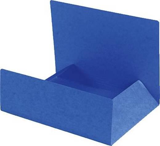 Einschlagmappe Manila blau