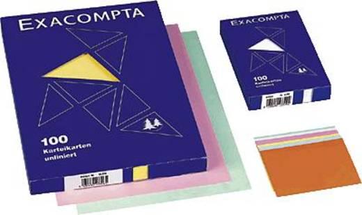 Exacompta Karteikarten, blanko/13330B A7 rosa Inh.100