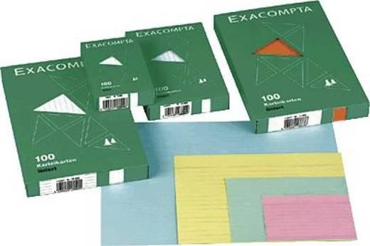 Brause Karteikarten, liniert/13848B A5 grün Inh.100