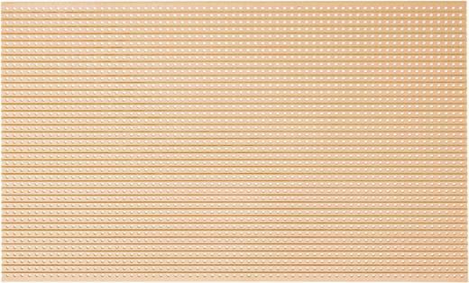 Platine Hartpapier (L x B) 160 mm x 100 mm 35 µm Rastermaß 2.54 mm WR Rademacher WR-Typ 715-5 Inhalt 1 St.