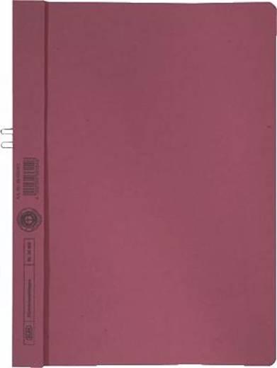 Elba Klemmmappe/36450RO für DIN A4 rot Manilakarton (RC) 250 g/m²