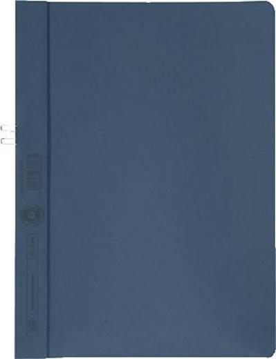 Elba Klemmmappe/36450BL für DIN A4 blau Manilakarton (RC) 250 g/m²