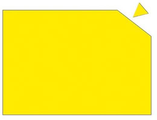 Franken Magnetplatten gelb/MP84104 Franken MP84104