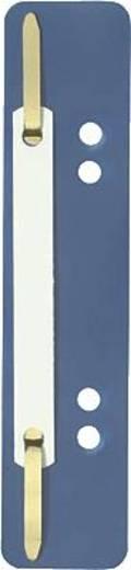 Elba Heftstreifen kurz/27591BL für DIN A4 und A5 blau PP Inh.100