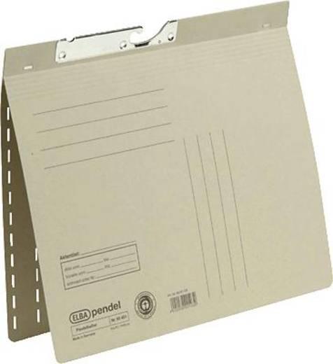 Elba Pendelhefter grau/90451GR für DIN A4 Manilakarton (RC) 250 g/m²