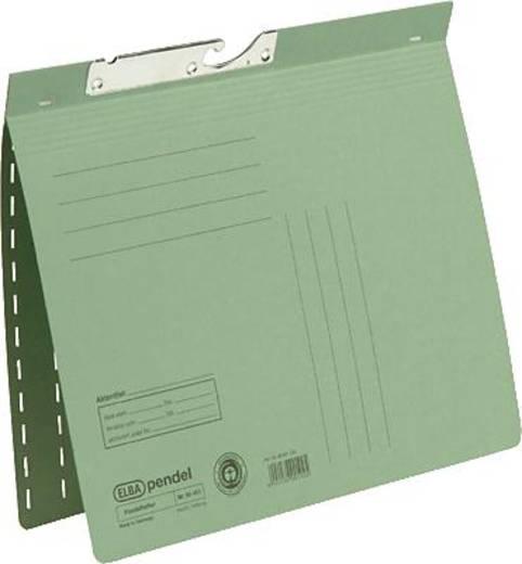 Elba Pendelhefter grün/90451GN für DIN A4 Manilakarton (RC) 250 g/m²