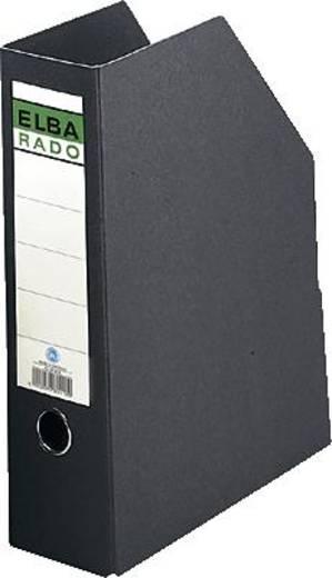 Elba Stehsammler aus Hartpappe/80418SW für DIN A4 schwarz Hartpappe (RC)