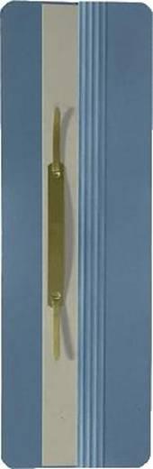Elba Ösenschmalhefter/26450BL für DIN A4 blau Manilakarton (RC) 250 g/m²