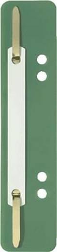 Elba Heftstreifen kurz/27591GN für DIN A4 und A5 grün PP Inh.100
