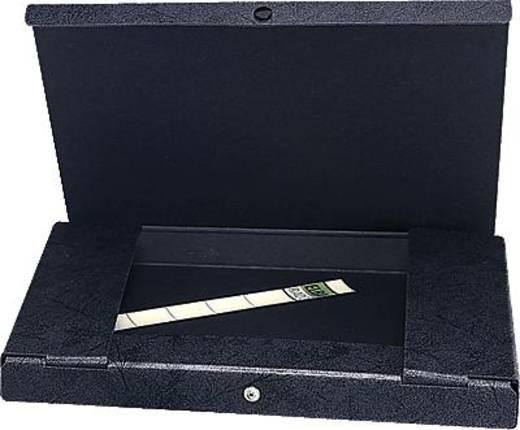 Elba Dokumentenbox schwarz/31411SW 315x240x15mm Hartpappe (RC) Inh.80 Blatt