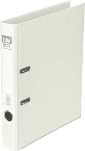 Elba Ordner rado-Lux Brillant/10414WE für DIN A4 weiß