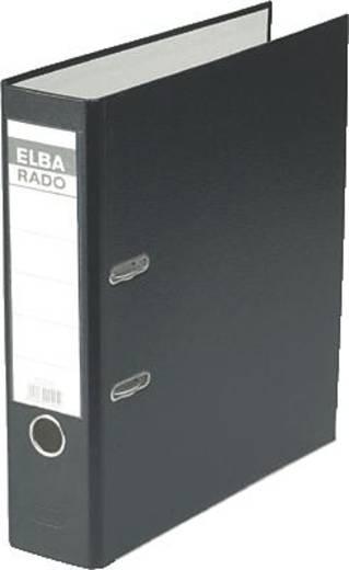 Elba Ordner rado-Lux Brillant/10417SW für DIN A4 schwarz