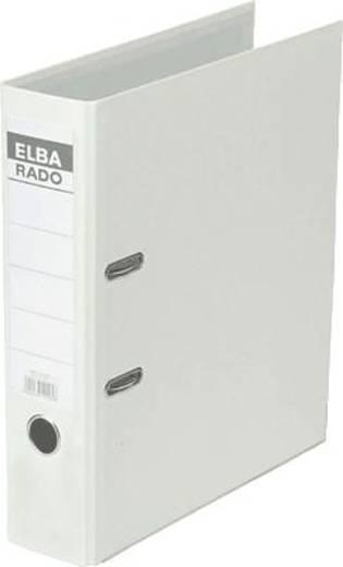 Elba Ordner rado-Lux Brillant/10417WE für DIN A4 weiß