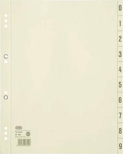 Elba Trennblätter/06455CH für DIN A4 chamois Kraftkarton (RC) 200 g/qm Inh.100