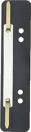Elba Einhängeheftstreifen kurz/27591SW für DIN A4 und A5 schwarz PP Inh.100