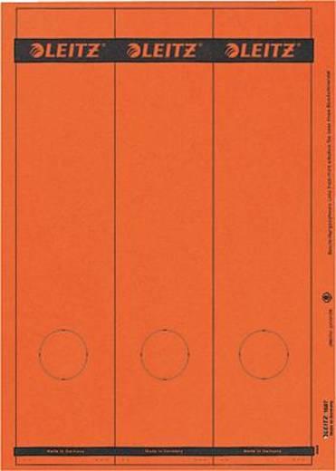 Leitz Rückenschilder PC-beschriftbar/1687-00-25 61,5x285mm rot Inh.75
