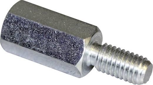 Abstandsbolzen (L) 40 mm M5 x 11 M5 x 10 Stahl verzinkt PB Fastener S48050X40 S48050X40 10 St.