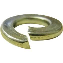 Pérové podložky vnitřní Ø: 2.6 mm M2.5 DIN 127 pružinová ocel 100 ks TOOLCRAFT D127-Gew.M2,5 196380