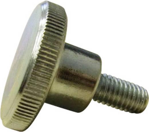 Rändelschrauben M4 10 mm DIN 464 Stahl galvanisch verzinkt 10 St. TOOLCRAFT M4*10 D464-5.8:A2K 194771