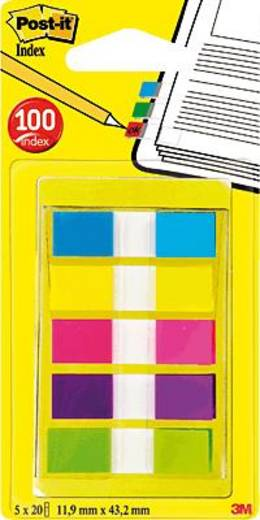 Post-it® Index im Etui/6835CBEU 12,7x43,7 mm Inh.je 20
