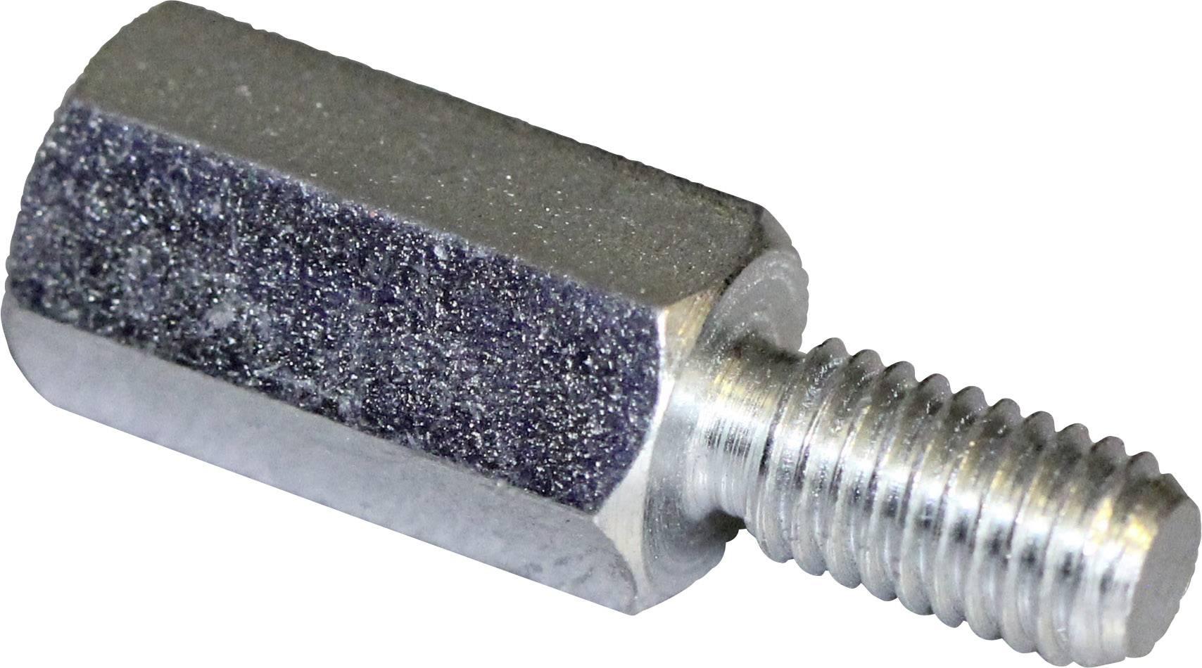 Stahl Gr/ö/ße M24 x L/änge 72mm verzinkt | Sechskant 1 St/ück QUALIT/ÄTS VERBINDUNGSMUTTER