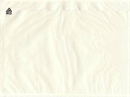 Dokumententaschen C5 neutral/522372 transparent 230x165 mm Inh.1000
