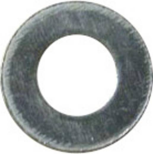 Unterlegscheiben Innen-Durchmesser: 3.2 mm M3 DIN 125 Stahl verzinkt 100 St. TOOLCRAFT A3,2 D125:A2K 191558