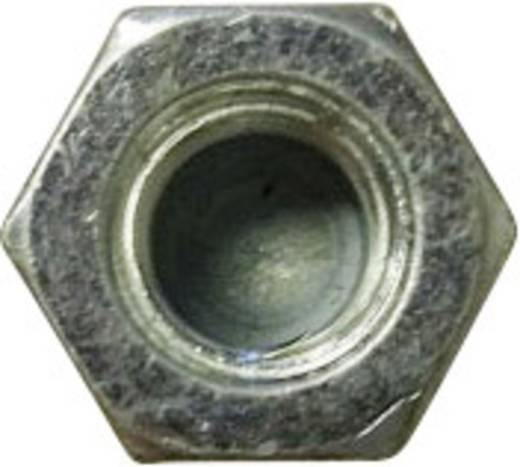 Sechskant-Hutmuttern M3 DIN 917 Stahl verzinkt 10 St. TOOLCRAFT M3 D917-STAHL:A2K 194782