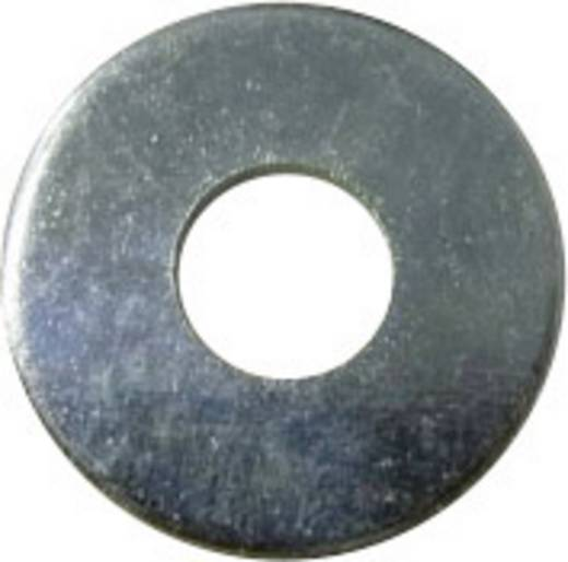 Unterlegscheiben Innen-Durchmesser: 2.5 mm M2.5 DIN 9021 Stahl verzinkt 100 St. TOOLCRAFT 2,7 D9021:A2K 194721
