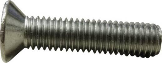 Senkschrauben M2 6 mm Schlitz DIN 963 Stahl verzinkt 100 St. TOOLCRAFT M2*6 D963-4.8:A2K 194819