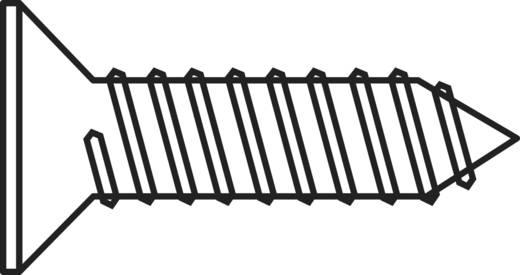 Senkblechschrauben 2.9 mm 9.5 mm Kreuzschlitz Philips DIN 7982 Stahl verzinkt 100 St. TOOLCRAFT HC2,9*9,5 D7982:A2K 19