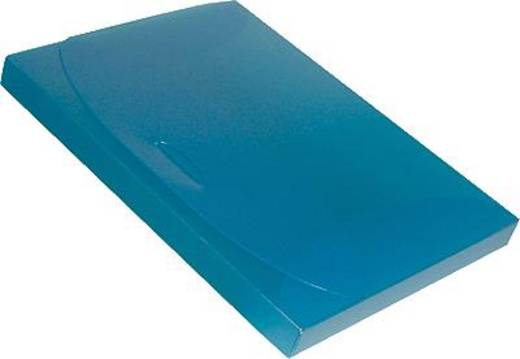 Dataplus Sammelbox -trend/27225.810 DIN A4 blau-transparent PP 80 my