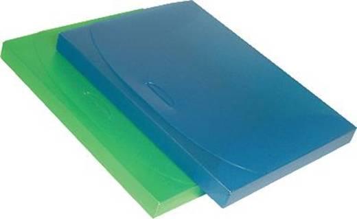 Dataplus Sammelbox -trend/27225.820 DIN A4 rot-transparent PP 80 my