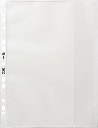Elba Dokumentenhülle A4, genarbt/71443 farblos PP, geprägt 130my Inh.10