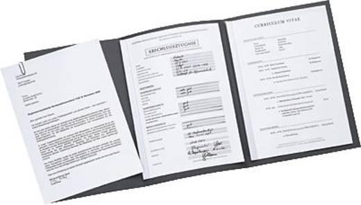 Elba Bewerbungsmappe job execellent/36410AZ für DIN A4 anthrazit Karton 320 g/m²