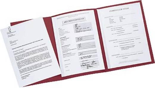 Elba Bewerbungsmappe job execellent/36410BX für DIN A4 bordeaux Karton 320 g/m²
