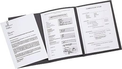 Elba Bewerbungsmappe job execellent/36410DB für DIN A4 dunkelblau Karton 320g/m²