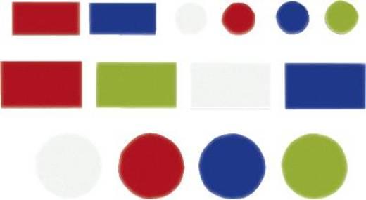 FRANKEN Magnetsymbole Kombiset/MKS01 rot