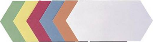 FRANKEN Moderationskarten Rhombus/UMZ 920 99 20,5x9,5cm sortiert Inh.500