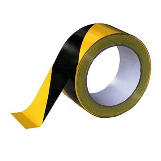 Signalklebeband Citius Gelb, Schwarz (L x B) 66 m x 50 mm Acrylat Inhalt: 1 Rolle(n)