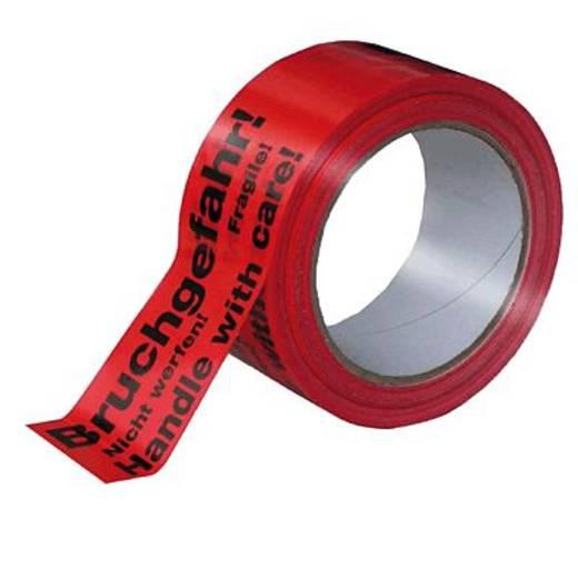 Signalklebeband Citius Rot, Schwarz (L x B) 66 m x 50 mm Acrylat Inhalt: 1 Rolle(n)