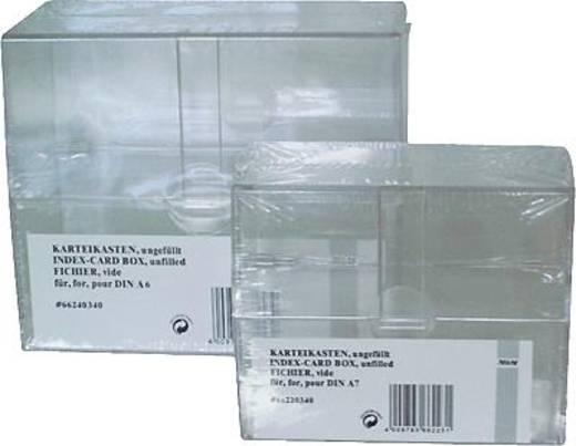 M&M Karteikasten A6/66240340SP glasklar