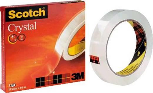 Klebeband 3M Scotch® Crystal Clear 600 Transparent (L x B) 66 m x 19 mm Inhalt: 1 Rolle(n)