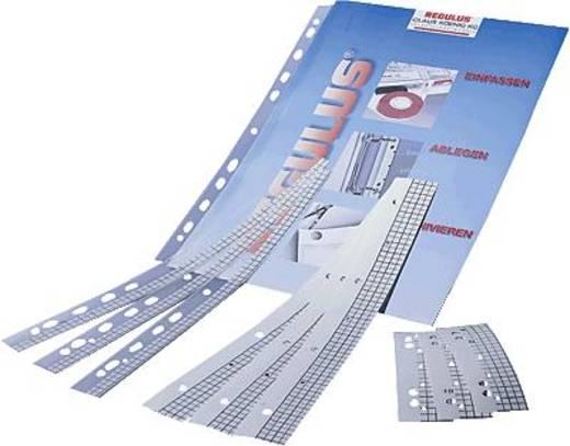 REGULUS Heftstreifen REGUfix FXT3-105 111x30mm transparent Kunststoff Inh.50