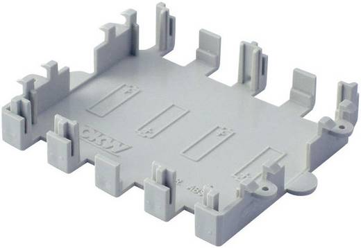 Batteriefach ABS Grau OKW COMTEC A9174004 1 St.