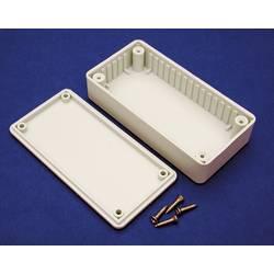 Univerzálne púzdro Hammond Electronics BOXD BOXD, 150 x 80 x 50 , ABS, svetlo sivá (RAL 7035), 1 ks