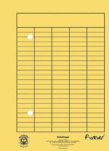 Exacompta Umlaufmappe A4/353504B DIN A4 gelb 250g/ qm