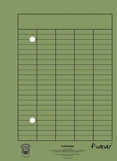Exacompta Umlaufmappe A4/353525B DIN A4 grün 250g/ qm