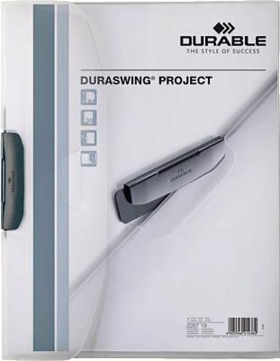Durable Klemmmappe DURASWING® PROJECT/2287-19 transparent