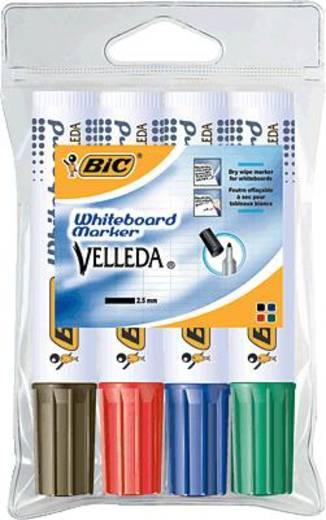 BIC Whiteboardmarker Velleda 1711, sortiert/1199001704 sortiert Inh.4